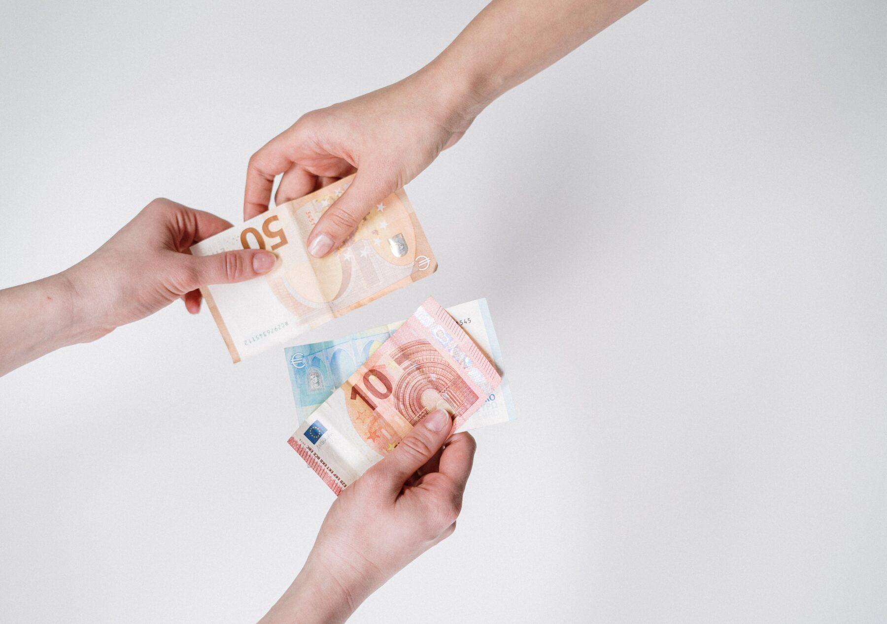 euros verdelen vermogen scheiden